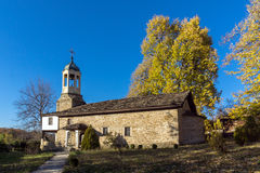 BOZHENTSI, BULGARIA - OCTOBER 29 2016:   Church of Saint Prophet Elijah in village of Bozhentsi, Bulgaria Stock Image