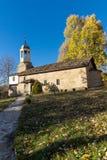 BOZHENTSI, BULGARIA - OCTOBER 29 2016:   Church of Saint Prophet Elijah in village of Bozhentsi, Bulgaria Royalty Free Stock Photos