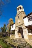 BOZHENTSI, BULGARIA - OCTOBER 29 2016:   Church of Saint Prophet Elijah in village of Bozhentsi, Bulgaria Stock Photo