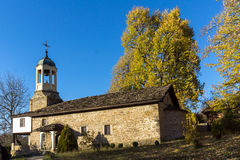 BOZHENTSI, BULGARIA - OCTOBER 29 2016:   Church of Saint Prophet Elijah in village of Bozhentsi, Bulgaria Royalty Free Stock Images