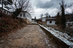 Bozhentsi village, Bulgaria. Bozhentsi is a village and architectural reserve in Gabrovo municipality, in central northern Bulgaria. The village is noted for its Stock Photos