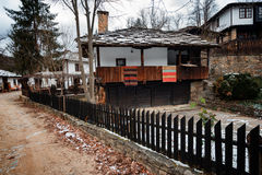 Bozhentsi village, Bulgaria. Bozhentsi is a village and architectural reserve in Gabrovo municipality, in central northern Bulgaria. The village is noted for its Royalty Free Stock Photo