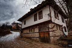 Bozhentsi, village in Bulgaria. Bozhentsi, is a village and architectural reserve in Gabrovo municipality, Gabrovo Province, Bulgaria. It is noted for its well Royalty Free Stock Images