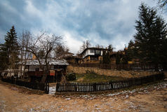 Bozhentsi, village in Bulgaria. Bozhentsi, is a village and architectural reserve in Gabrovo municipality, Gabrovo Province, Bulgaria. It is noted for its well Royalty Free Stock Photography