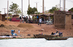 bozo Мали bamako вне села стоковые фотографии rf