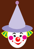 Bozo Clown Face Royalty Free Stock Images