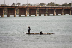 Bozo fishermen in Bamako, Mali Stock Photo