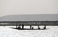 Bozo fishermen in Bamako, Mali Royalty Free Stock Image