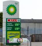 BP显示 免版税图库摄影