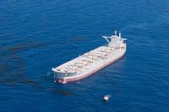 bp深水展望期油spil 库存照片