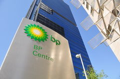BP centra-se Fotografia de Stock Royalty Free