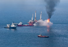 BP Deepwater Horizon Oil Spill Royalty Free Stock Image