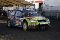 BP Ford Team at Wales Rally GB 2008 Stock Photos