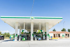 BP gas station Stock Photography