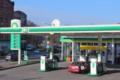 BP gas station Royalty Free Stock Photography