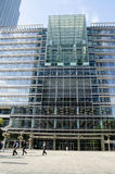 BP-Hoofdkwartier, Docklands, Londen Royalty-vrije Stock Foto's