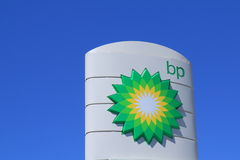 BP oil company Royalty Free Stock Photo