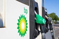BP-Tankstelle Stockfotografie