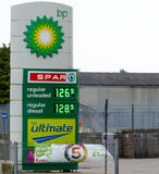 BP zeigen an Lizenzfreie Stockfotografie