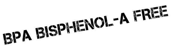 BPA Bisphenol-A自由不加考虑表赞同的人 皇族释放例证