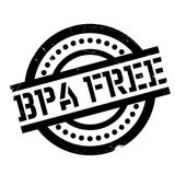 Bpa Free rubber stamp Royalty Free Stock Photography