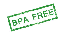 Bpa free stamp. Vector isolated on white background Royalty Free Stock Photography