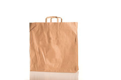 Bag on white Royalty Free Stock Photo