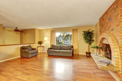 BPerfect hardwood living room. Stock Photography