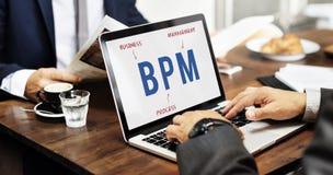 BPM Business Company Strategy Marketing Concept. Business Men BPM Company Strategy Marketing Royalty Free Stock Photography