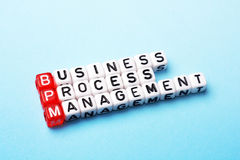 BPM  business process management Stock Images