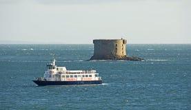 Bréhon torn, Guernsey Arkivbilder