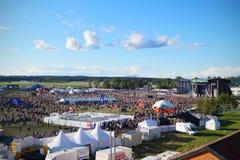 Bråvalla-Festival lizenzfreies stockbild