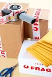 bräcklig service för leverans Fotografering för Bildbyråer