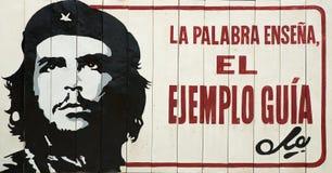 Bräde för Che vägrenpropaganda Royaltyfri Fotografi