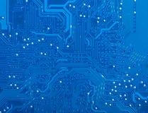 Bräde för elektronisk strömkrets Arkivfoton