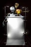 bräde halloween Arkivfoton