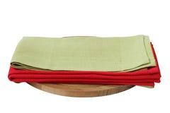 Bräde och torkduk för stilleben arkivfoton