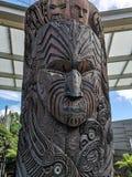 bräde snidit maori royaltyfria bilder