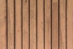 Bräde som målas i brun färg Fotografering för Bildbyråer