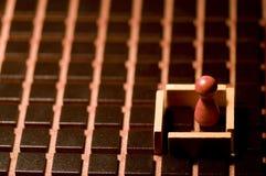 bräde stängd lek förlorad markör Royaltyfri Fotografi