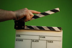 brädeclapper Fotografering för Bildbyråer
