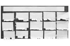 brädeinformation Arkivfoton