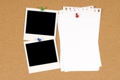 brädeinformationsclose som skjutas upp Royaltyfri Foto