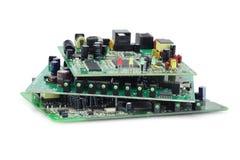 bräden circuit elektroniskt Royaltyfri Fotografi