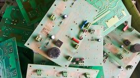 bräden circuit gammalt royaltyfri bild