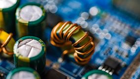 bräden circuit utskrivavet royaltyfria foton