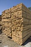 bräden staplar trä Fotografering för Bildbyråer
