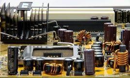 brädeströmförsörjningsPC Arkivfoton