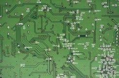 brädeströmkretsgreen Arkivfoto