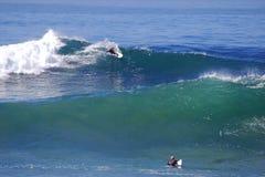 Brädesurfare på bäckgatastranden, Laguna Beach, Fotografering för Bildbyråer
